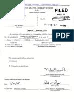 Worrell Child Exploitation Criminal Complaint