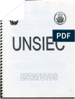 Estatutos UNSIEC