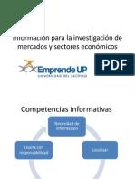 Informacion Para La Investigacion de Mercados y Sectores