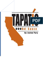 Tapatio Pitch Book