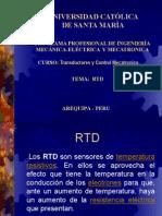 Tema RDT tipo de sensores