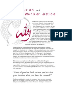 Quran and Worker Justice