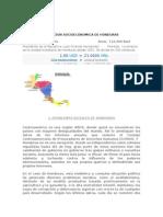 Honduras Problemas Economicos y Sociales.