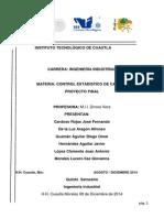 Proyecto Completo Control Estadistico de Calidad