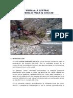 Visita a La Central Hidroeléctrica El Chicche