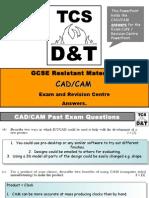 Exam Cafe CAD CAM Answers