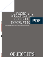 Etude de La Securite Informatique