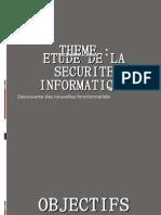 Etude de La Securite Informatique