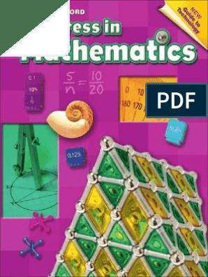Progress in Mathematics Grade 6   Fraction (Mathematics)   Area