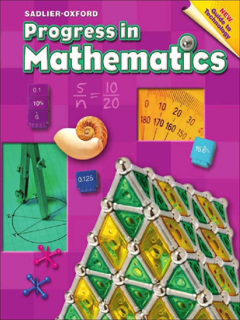 Progress in Mathematics Grade 6 | Area | Fraction (Mathematics)