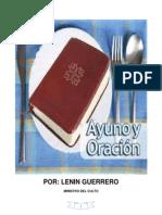 El Ayuno Cristiano