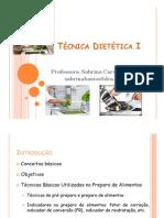 Aula 2 - Técnica Dietética