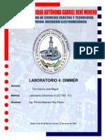 Informe Dimmer Electrónico