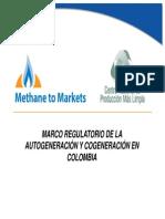 Marco Regulatorio de La Autogeneracion y Cogeneracion Ivan Diez