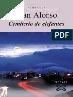 Alonso, Fran - Cemiterio de Elefantes (Xerais, Col. Narrativa, 201x)