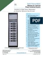 Paradise Datacom GaN Powermax SSPA 211198 RevD