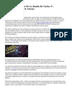"""Resena De """"Cuentos De La Abadia De Carfax 4"""", Compendiados Por R. Giorno"""
