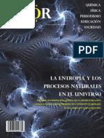 Revista QUOR Entropía y Los Procesos Naturales en El Universo