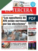 Diario La Tercera 25.03.15