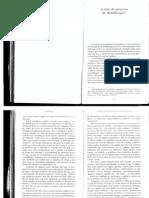 Castoriadis C. a Crise Do Processo de Identificação