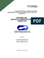 Resumen Proyecto Termoelectrico Arenillas
