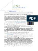 Pa Environment Digest March 23, 2015