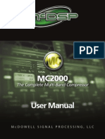 McDSP MC2000 Plug-In Manual