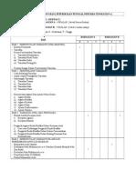 Jadual Spesifikasi Ujian - Penggal 1