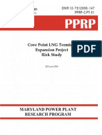 Cove Point LNG Terminal Expansion Project Risk Study