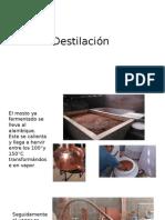 Destilación Pisco