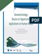 Elhadj Dogheche Presentation Nanotech for USU 070315