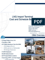 LNG Import Terminal Cost and Schedule Basics