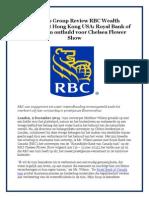 The Woo Group Review RBC Wealth Management Hong Kong USA
