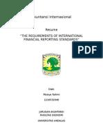 Maisya Rahmi 1210532040 - THE REQUIREMENTS OF INTERNATIONAL FINANCIAL REPORTING STANDARDS.docx