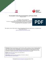 Thrombophilia Testing, Recurrent Thrombosis