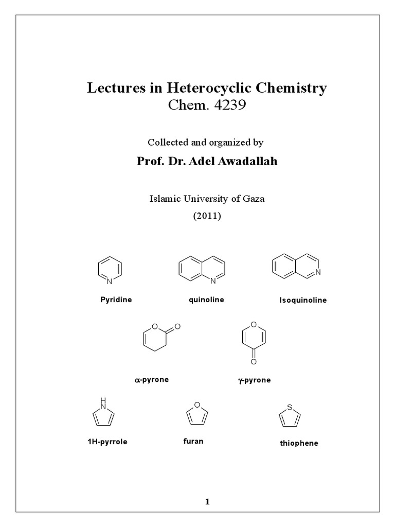 Shodhganga@INFLIBNET: Synthesis and characterization of novel heterocyclic compounds