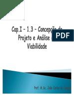 Cap.I - 1.3 - Concepção Do Projeto - Necessidades V2