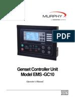 EMS-GC10 _ Genset Controller Unit _ Operator´s Manual _ 00-02-0878 _ March 2013 _ FW MURPHY.pdf