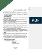 Plan Anual de Eucaristia 2015 - Cerro Colorado
