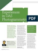 Experiences in UAS Photogrammetry GIM0113 PIEneering