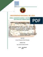 """""""Establecimiento Del Cultivo, Cosecha y"""