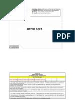 Matriz Dofa Modelo