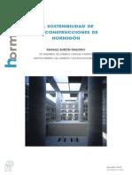 Sostenibilidad en Construccion Del Hormigon