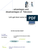 Advantages and Dis of Tv