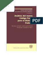 Analisis del Nuevo Codigo Penal para el DF