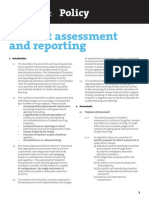 student assessment and reporting policy-indepdent education union victoria