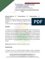 Evaluación de Croquetas Elaboradas Con Harina Precocida de Yuca