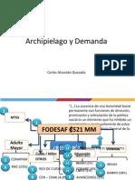 Carlos Alvarado Quesada - Ministro de Desarrollo Humano y Presidente del IMAS - Archipiélago o Demanda