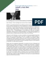 Bertrand Russell y sus Diez Mandamientos