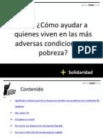 Jose Aguilar - FAJ - ¿Cómo ayudar a quienes viven en las más adversas condiciones de pobreza?